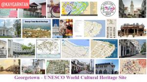 georgetown unesco heritage site
